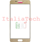 VETRINO per touchscreen Samsung Galaxy A3 2016 GOLD oro vetro touch screen A310