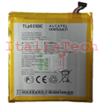 BATTERIA ORIGINALE Alcatel TLP025DC per One Touch 8050D Pixi 4 (6) 9001D 2580mAh bulk