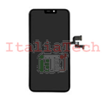 DISPLAY TOUCHSCREEN LCD TFT COMPLETO per iPhone X NERO vetro touch schermo vetrino TOP AA