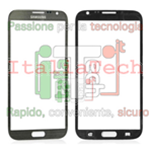 VETRINO touchscreen per Samsung N7100 vetro touch screen grigio Samsung Note 2