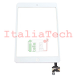 VETRINO touchscreen ASSEMBLATO per iPad Mini BIANCO vetro touch screen tasto home IC chip