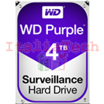 "HDD HARD DISK 3,5"" 4TB 4000GB WESTERN DIGITAL PURPLE WD WD40PURZ"