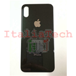 Back Cover Copribatteria posteriore Per apple iphone Xs Nero scocca retro guscio