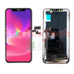 DISPLAY TOUCHSCREEN LCD OLED COMPLETO per iPhone Xs NERO vetro touch schermo vetrino TOP AAA+