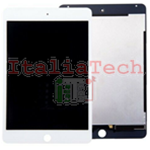 LCD DISPLAY COMPLETO + Touch Per iPad Mini 4 Bianco A1538 A1550