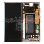 DISPLAY LCD ORIGINALE Samsung N960F Galaxy Note 9 GOLD oro vetrino touch vetro schermo