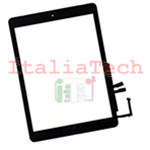 VETRO TOUCH SCREEN ASSEMBLATO per iPad 6 6A GEN. 9.7 2018 A1893 A1954 NERO