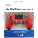 CONTROLLER PS4 DUALSHOCK 4 V2 ROSSO PLAYSTATION 4 NUOVO SONY
