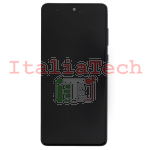 DISPLAY LCD ORIGINALE Samsung N770 Galaxy Note 10 Lite NERO vetrino touch vetro schermo