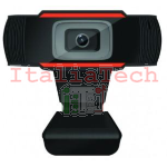 WEBCAM USB HD 720P 1MP SMART MEETING CON MICROFONO MACH POWER IT-WB1MHD-011
