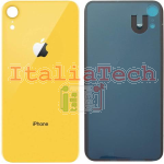 Back Cover Copribatteria posteriore Per apple iphone Xr Giallo scocca retro guscio