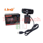 WEBCAM NERA LINQ HD-R70 12mil pix HD 480P
