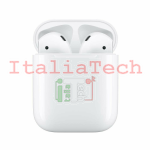 AURICOLARE BLUETOOTH AIRPODS 2 CON CHARGING CASE APPLE MV7N2ZM/A
