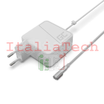 ALIMENTATORE PER NOTEBOOK APPLE MACBOOK 45W 14,5V 3,1A CONNETTORE MAGSAFE GREEN CELL AD36