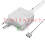 ALIMENTATORE PER NOTEBOOK APPLE MACBOOK 60W 16,5V 3,1A CONNETTORE MAGSAFE 2 GREEN CELL AD37