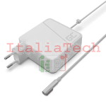 ALIMENTATORE PER NOTEBOOK APPLE MACBOOK 60W 16,5V 3,65A CONNETTORE MAGSAFE GREEN CELL AD03