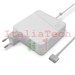 ALIMENTATORE PER NOTEBOOK APPLE MACBOOK 85W 20V 4,25A CONNETTORE MAGSAFE 2 GREEN CELL AD55